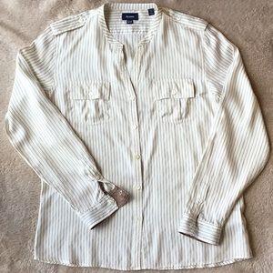 Faconnable silk blouse.
